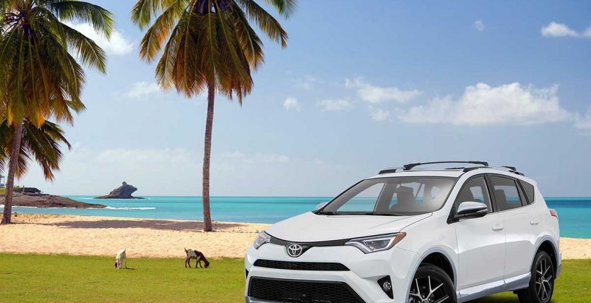 Affordable car rental in Antigua