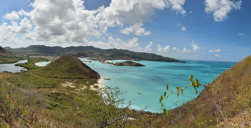 Beautiful Panoramic View Antigua